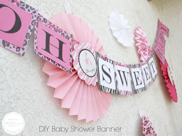 Candy Buffet Baby Shower Party Ideas Sweet Spice For Girls Via  Babyshowerideas4u Oh Sweet Banner
