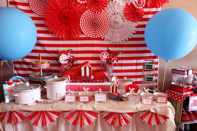 Carnival Extravaganza Baby Shower Ideas Themes Games