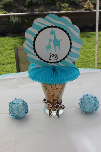Safari Themed Surprise Baby Shower Ideas ...