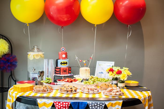 superhero baby shower theme ideas baby shower ideas themes