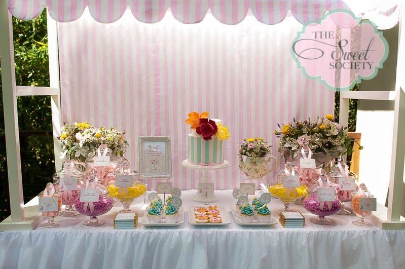 Whimsical Wonderland Garden Party Baby Shower Ideas