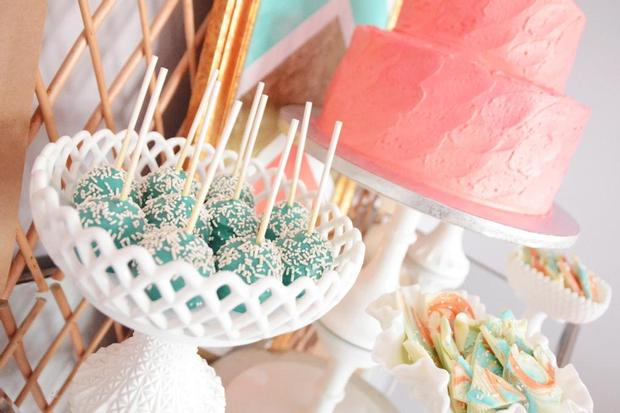 Bohemian, Bows & Arrows Baptism Celebration, great baby shower ideas ...