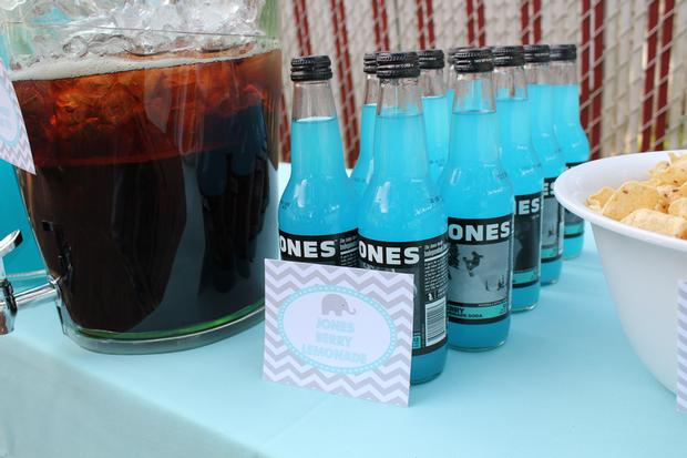 Baby Shower Themed Drinks ~ Valentine themed baby shower food and drinks white and red baby