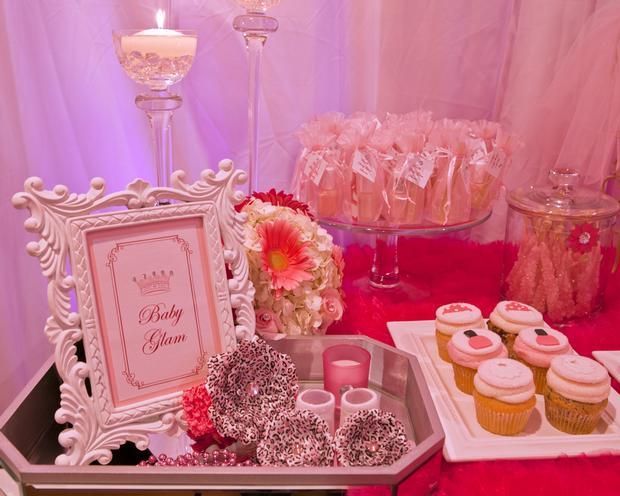 baby glam shower ideas via babyshowerideas4u lovely dessert table so ...