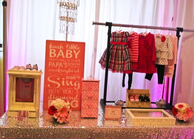 baby glam shower ideas via babyshowerideas4u lovely dessert table so stunning, signature table