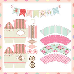 Baby shower ideas and shops themes favors free for Baby shower decoration templates