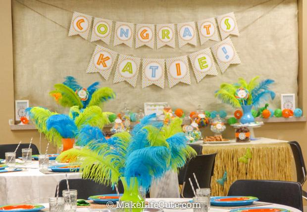 dinosaur baby shower banner it 39 s a boy brown green and blue
