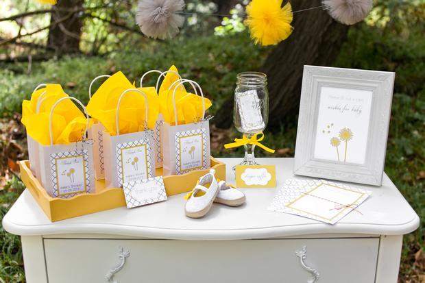 Kara's Party Ideas Dandelion Dreams Wishes Boy Girl Baby ... |Dandelion Baby Shower Theme
