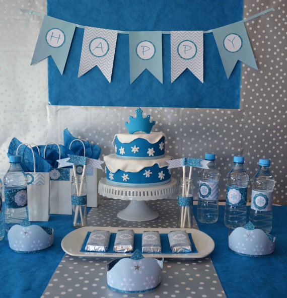 disney frozen themed party printable kit baby shower ideas themes