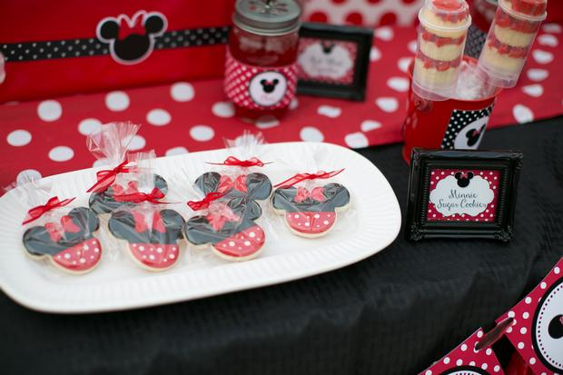 ... Minnie Mouse Picnic Party Red Black Polka Dots By Sugarshackcrafts Via Baby  Shower Ideas And Shops ...
