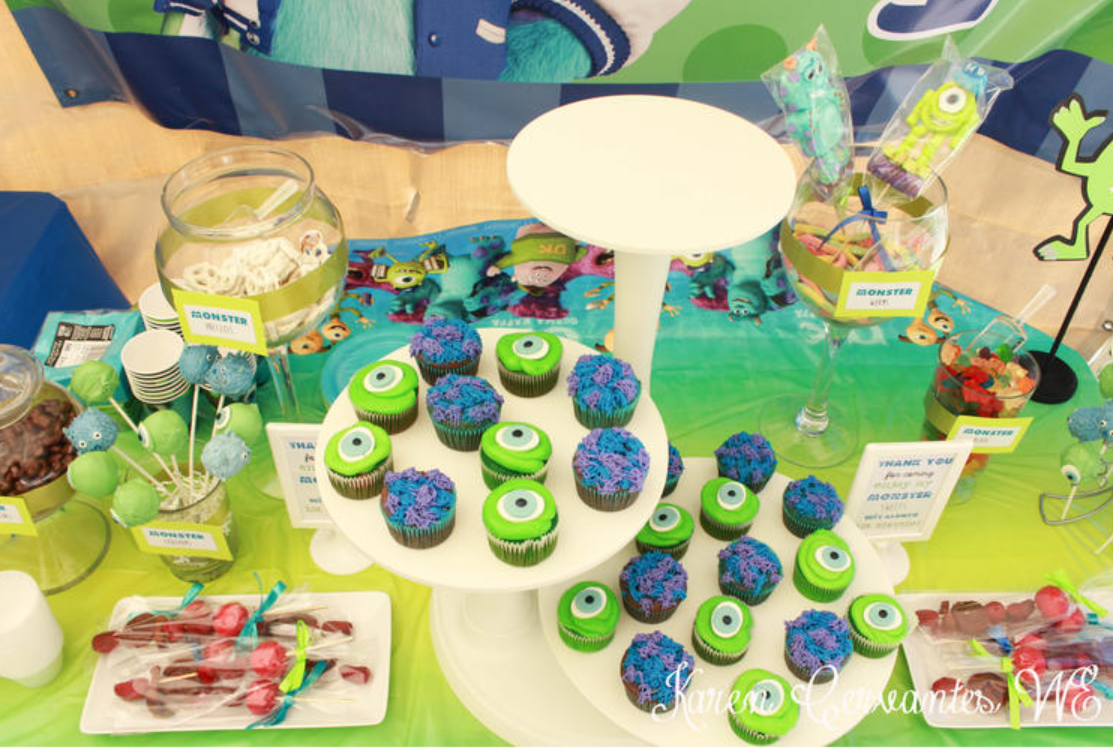 monster inc party decoration candy table ideas 2 baby shower ideas