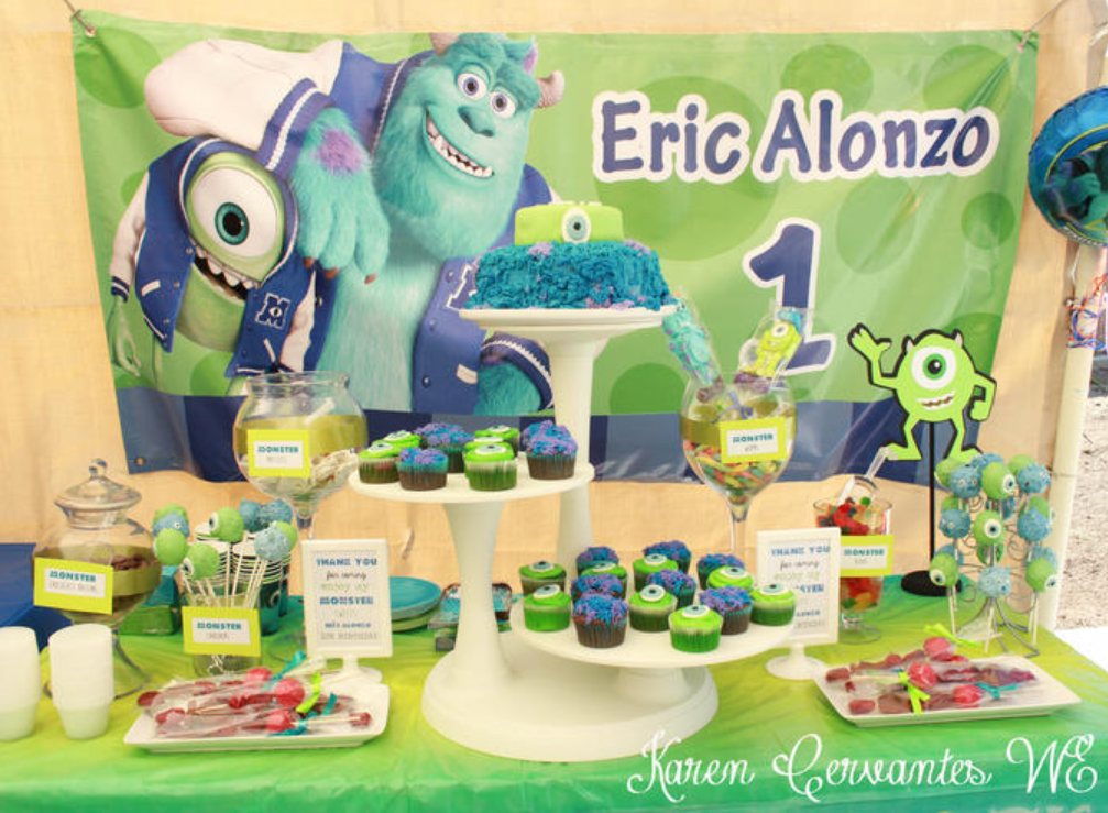 monsters inc baby monsters inc and baby shower party supplies on