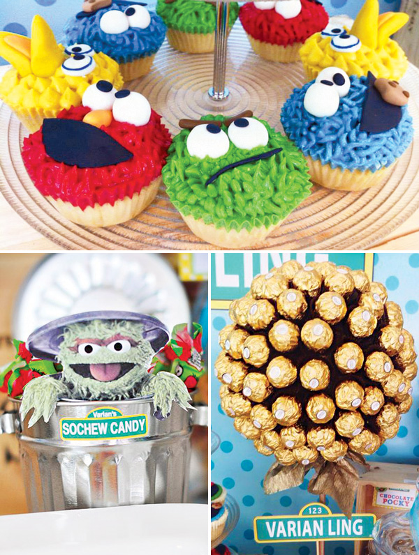 pics photos sesame street baby shower party theme throw the cutest