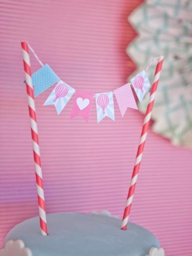 Vintage Hot Air Balloon Baby Shower Baby Shower Ideas