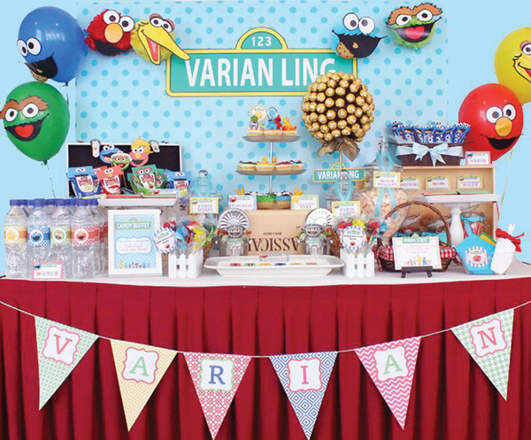 Great Sesame Street Baby Shower