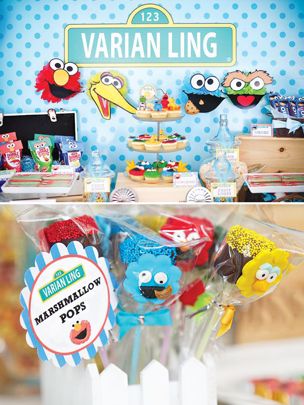 ... Sesame Street Baby Shower ...
