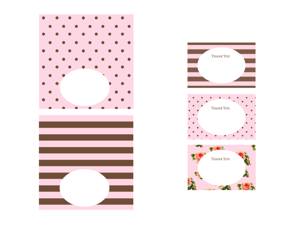free pink chocolate baby shower printables baby shower ideas