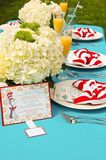 Dr. Seuss Themed Baby Shower Ideas And Decorations