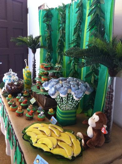 ... Jungle Safari Baby Shower Ideas, Co Baby Shower Ideas, Great First  Birthday Party Ideas ...
