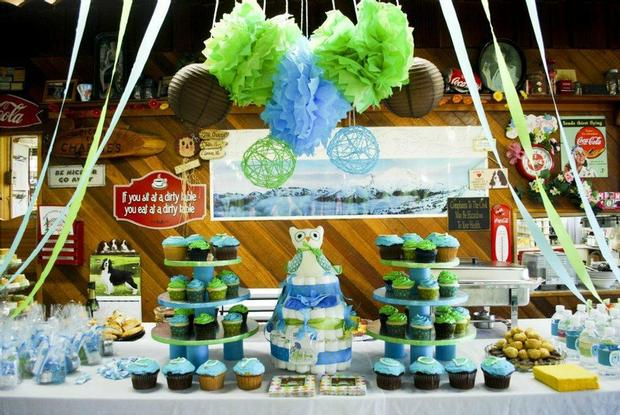 owl baby boy shower baby shower ideas themes games