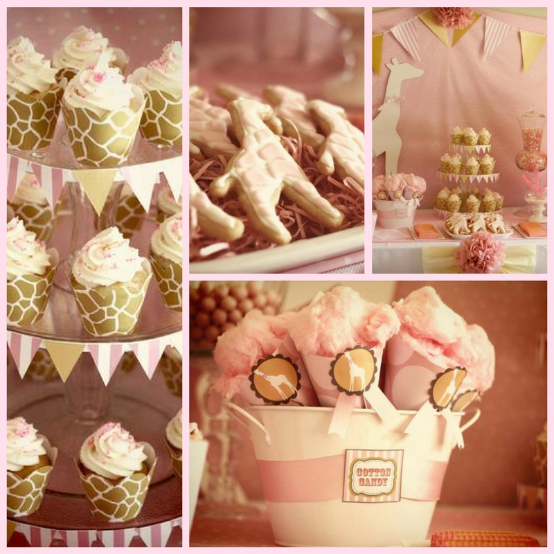 Pink Giraffe Baby Shower Ideas Baby Shower Ideas Themes