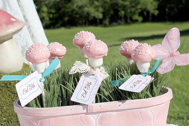 Shabby Chic Alice In Wonderland Baby Shower Ideas