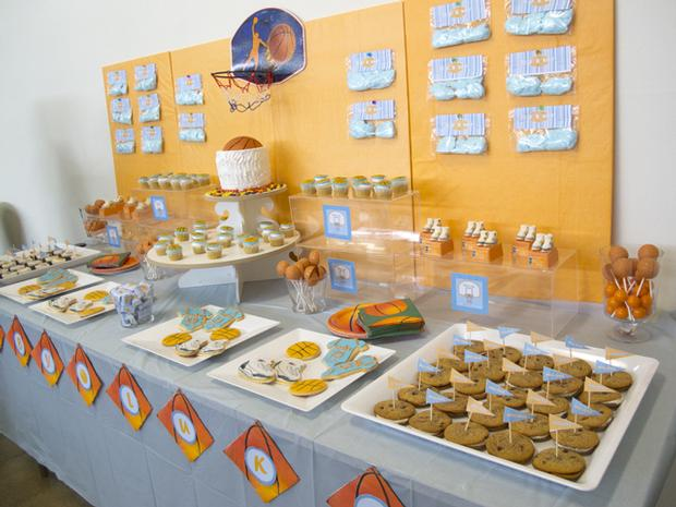 Cookies Slam Dunk Baby Shower Perfect For Basketball Birthday Party Ideas