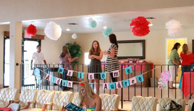 Dr Seuss Thing 1 And Thing 2 Baby Shower Ideas Themes Games