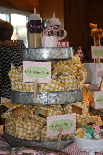 Chic carnival baby shower baby shower ideas themes games - Carnival foods ideas ...