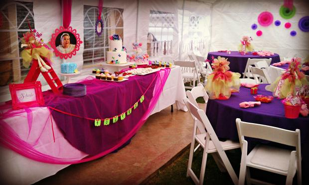 fairy garden party - baby shower ideas - themes