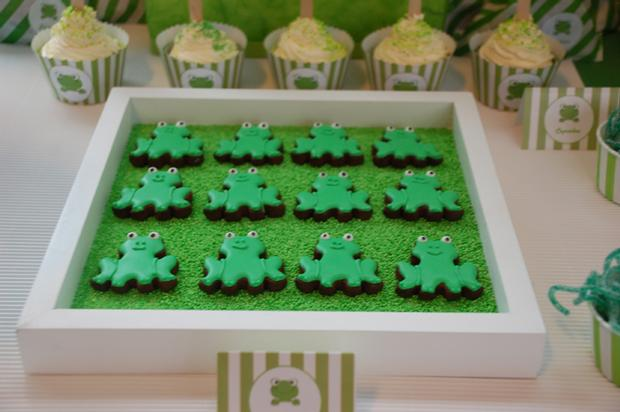 frog themed baby shower ideas, decorations, green colors, frog theme ...
