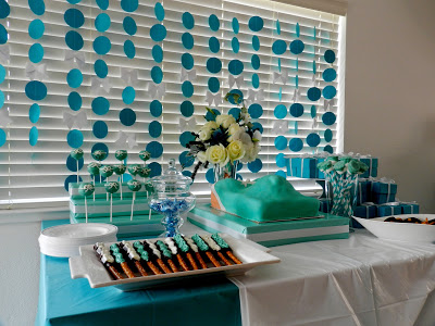 Little baby blue baby shower baby shower ideas themes games little baby blue baby shower fruits salad game table gift table center table desserts negle Gallery