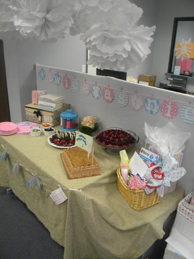Office Baby Shower Ideas Office Baby Shower, Baby Shower For Twins ...