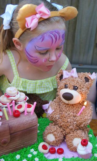 Teddy Bears Picnic Party - Baby Shower Ideas - Themes - Games How To Cut A Watermelon Basket
