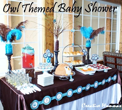 Lil Buckaroo Baby Shower · Owl Themed Baby Shower