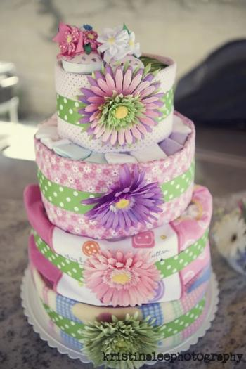 Baby Is Brewing Shower Theme Ideas Diaper Cake