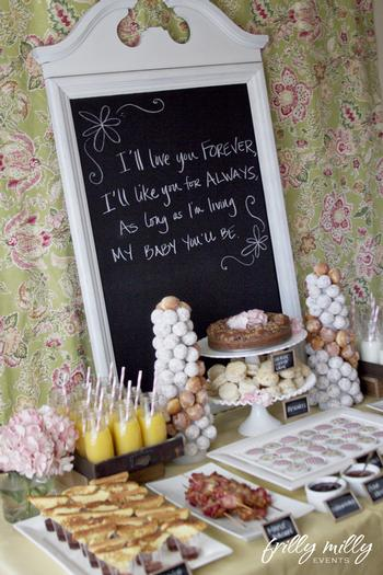 Farmhouse Brunch Baby Shower Ideas Themes Games