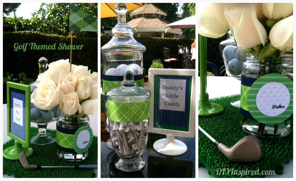 Golf Themed Baby Shower Baby Shower Ideas Themes Games