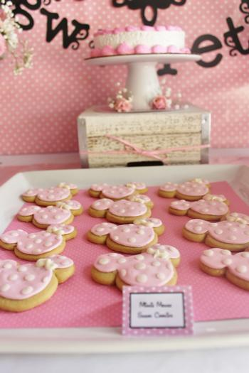 Pink Minnie Mouse First Birthday Party First Birthday Party Ideas
