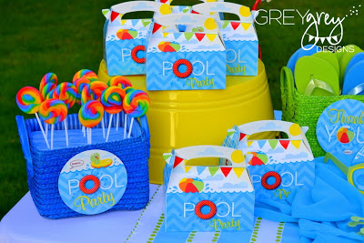 Pool Party Favors Ideas swim party favors Pool Party Favors Ideas Instant Download Pool Party Favor Tags Birthday Printables Splish Splash Summer Thank