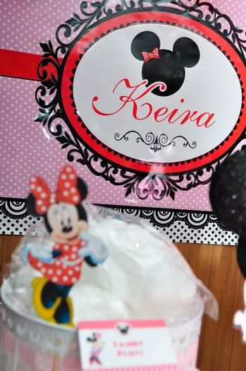 Baby Keira 1st Minnie Mouse Birthday Party Baby Shower