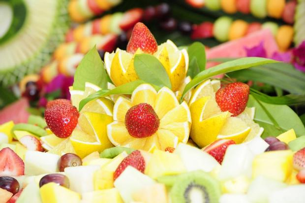 safari baby shower ideas food ideas fruit decorations jpg