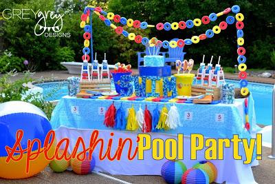Baby Shower Pool Party Ideas waterpalooza pool party ideas Summer Pool Party Ideas Summer Pool Party Ideas