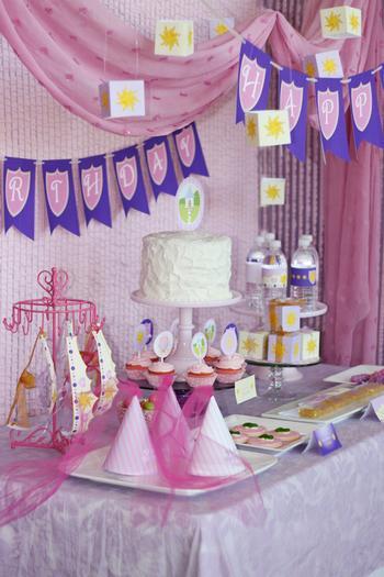 Tangled Birthday Decorations