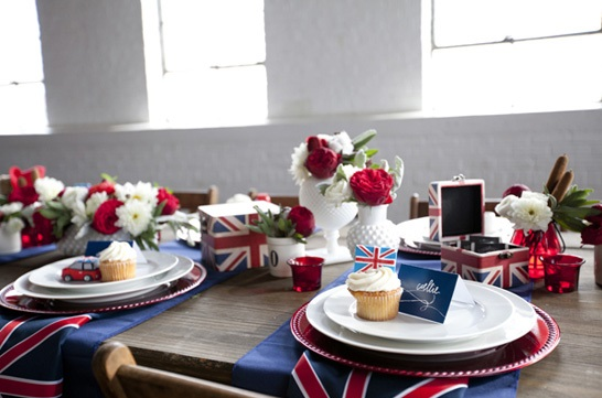 British Inspired Baby Shower - Baby Shower Ideas - Themes - Games