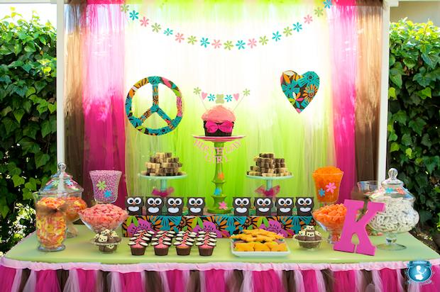 Peace Love And Owls Birthday Baby Shower Ideas Themes