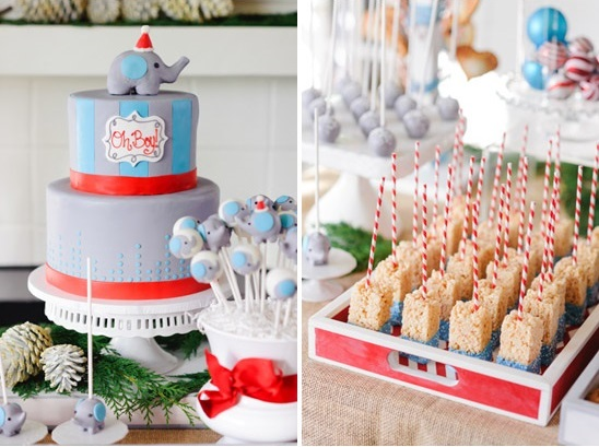 Winter Elephant Baby Shower Theme Baby Shower Ideas