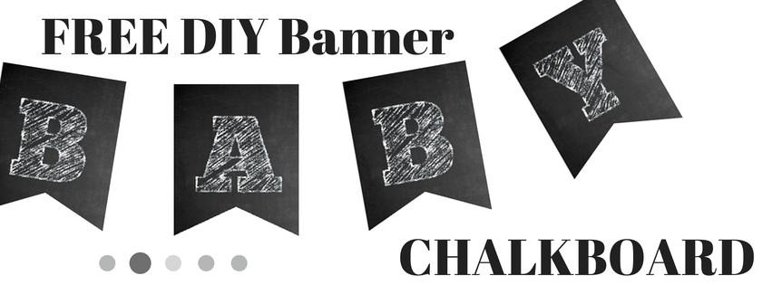 free chalkboard banner