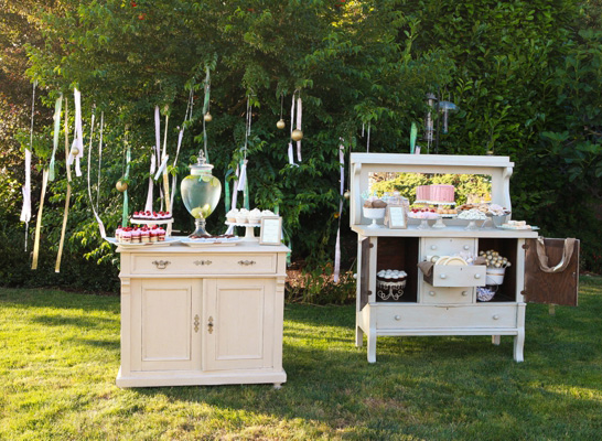 ... Beautiful Outdoor Baby Shower Party ...