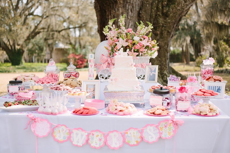 outdoor baby shower southern baby shower